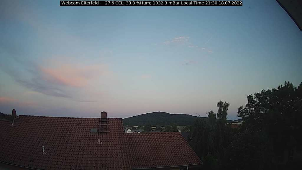 Current Webcam Image Eiterfeld